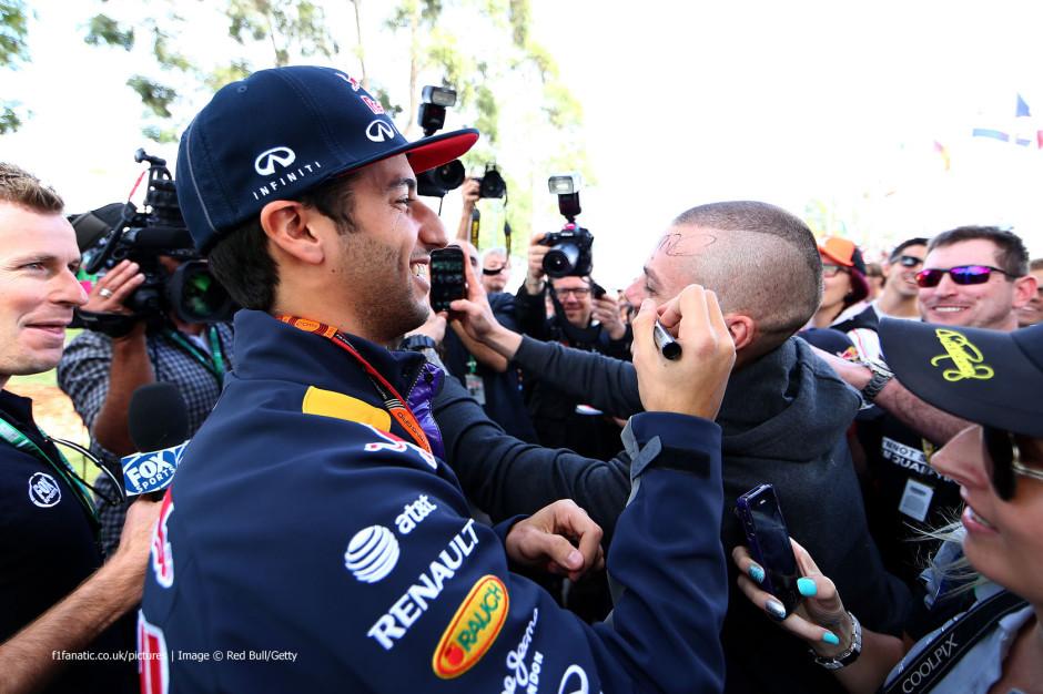 Daniel Ricciardo Austraalia GP-l