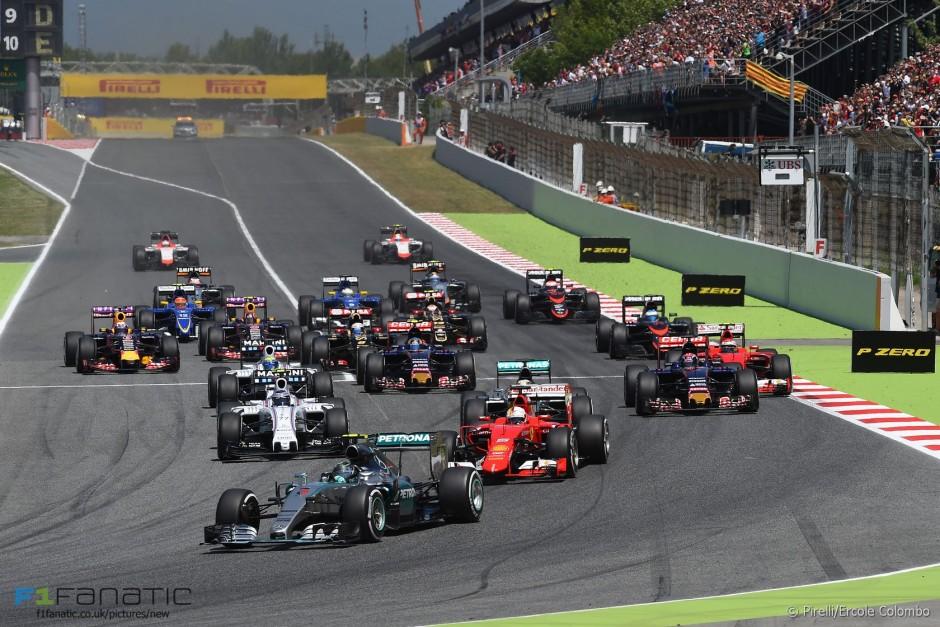 Hispaania GP start 2015