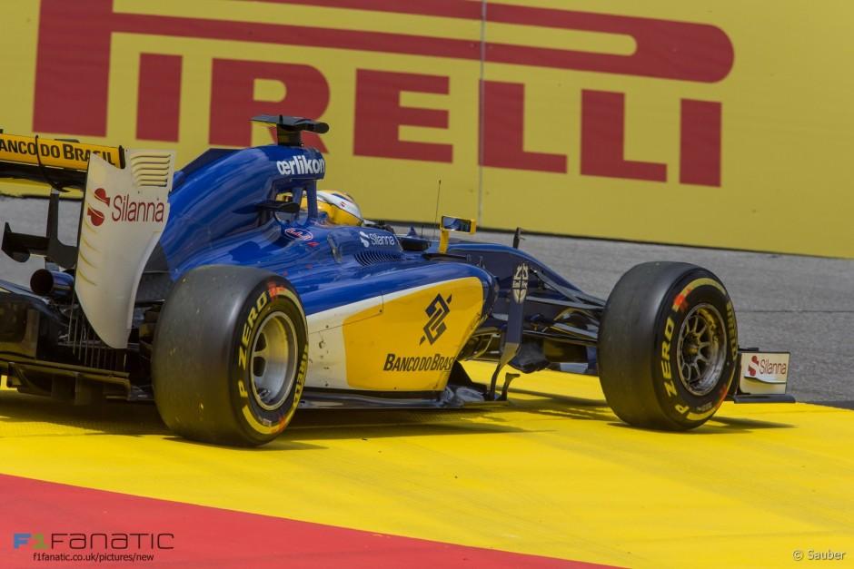 Marcus Ericsson, Sauber Ferrari, Austria GP