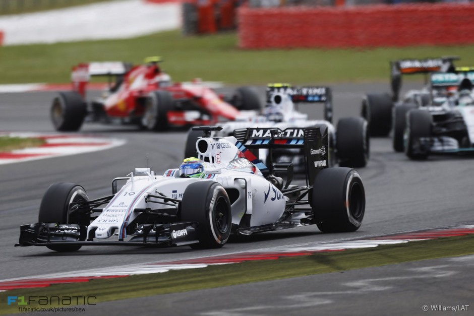 Felipe Massa, Williams Martini Racing, British GP