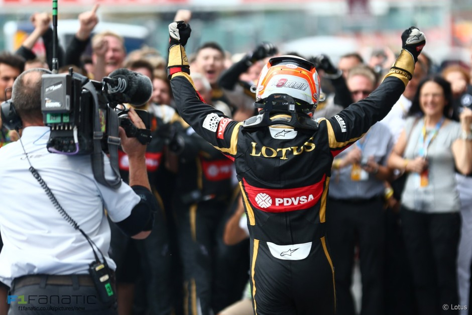 Romain Grosjean, Lotus F1 Team, Spa