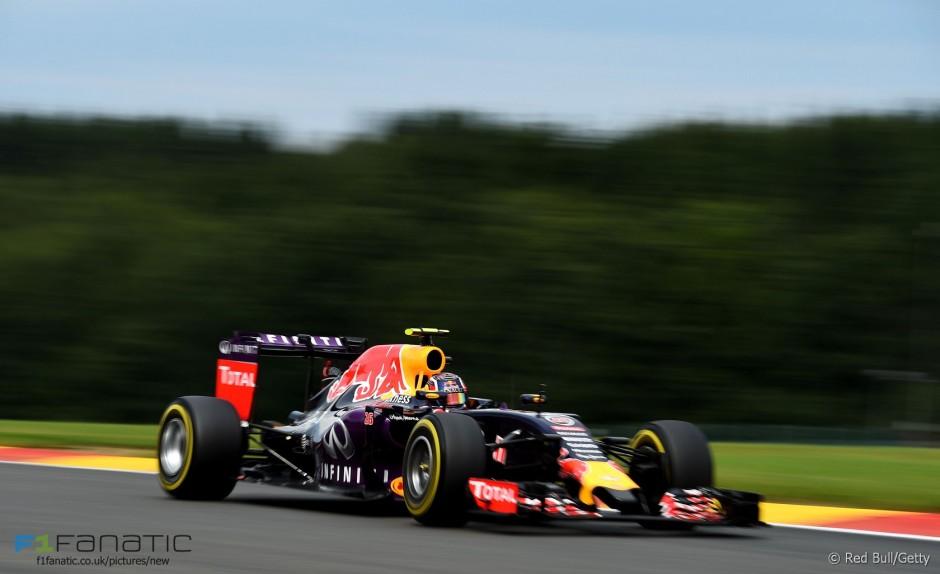 Daniil Kvjat, Red Bull Racing, Spa