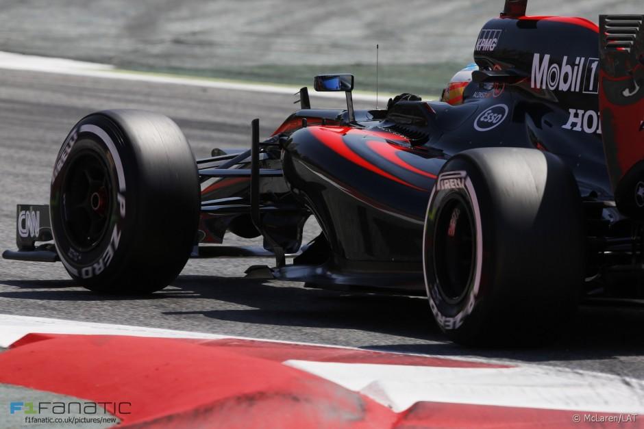 Fernando Alonso, McLaren Honda, Hispaania GP 2015