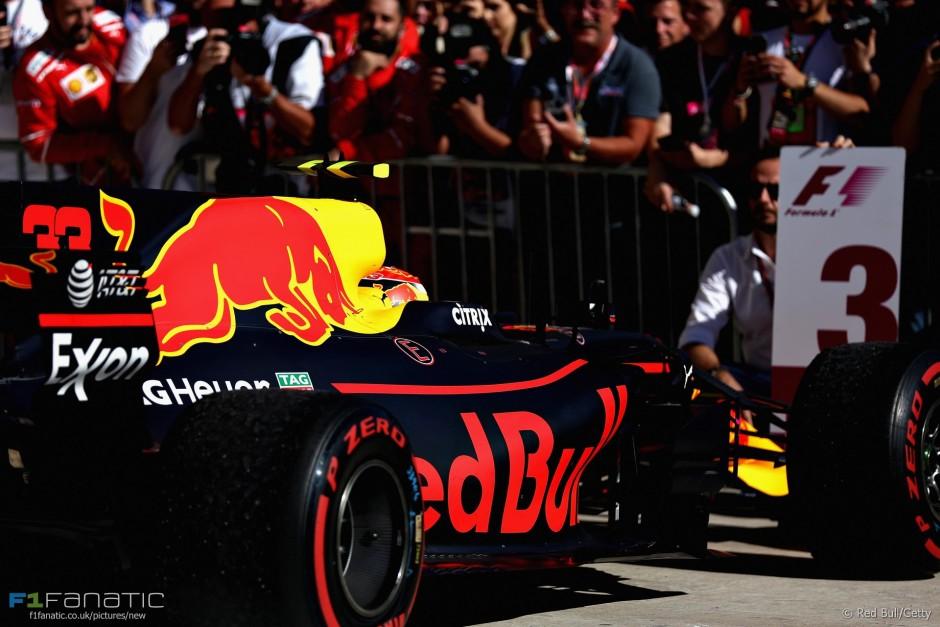 Max Verstappen, Red Bull, USA GP