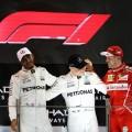 Abu Dhabi GP poodium 2017