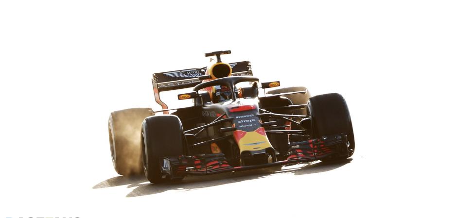 Daniel Ricciardo, Red Bull Racing, Barcelona 2018