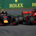 Max Verstappen ja Sebastian Vettel, Hiina GP
