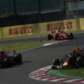 Jaapani GP, Max Verstappen ja Kimi Räikkönen
