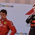 Charles Leclerc ja Max Verstappen, Austria GP 2019
