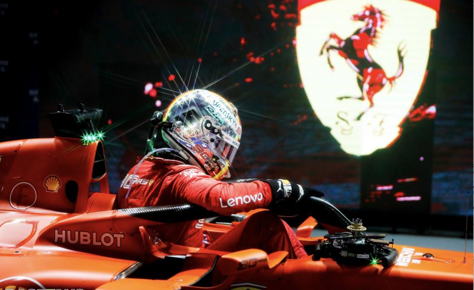 Sebastian Vettel, Singapuri GP, 2019