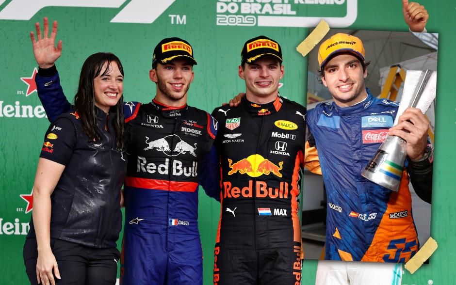Brasiilia GP poodium