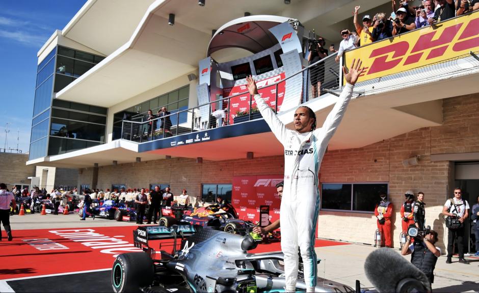 Lewis Hamilton, USA GP, 2019