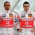 2007 aasta McLareni piloodid - Lewis Hamilton ja Fernando Alonso