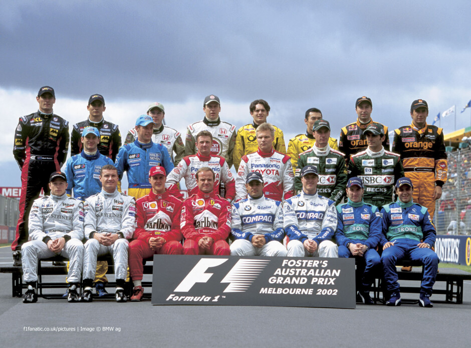 Aasta 2002 vormel 1 hooaja algus