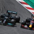 Lewis Hamilton ja Max Verstappen, Portugali GP 2021