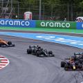 Lewis Hamilton ja Max Verstappen, Hispaania GP 2021