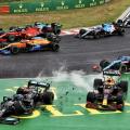 2021 Ungari GP start